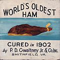World's Oldest Ham advertisement.JPG