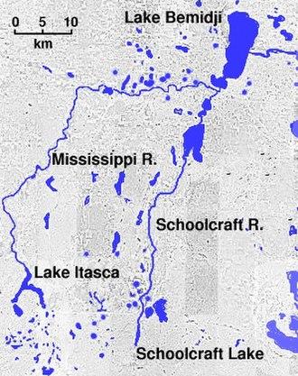 Lake Bemidji - Lake Bemidji, near the headwaters of the Mississippi River