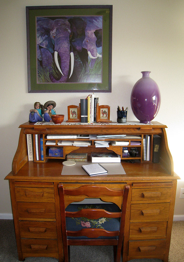 File Writing Desk Jpg Wikimedia Commons