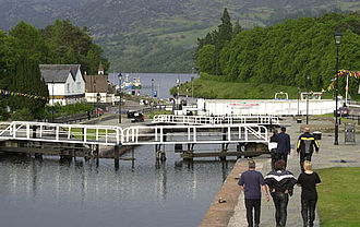 Loch Ness - Image: Wt 9 schleuse 3 augustus locks