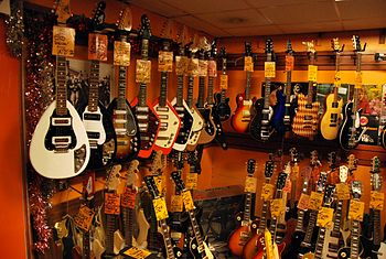 Wunjo Guitars, 20 Denmark Street, London