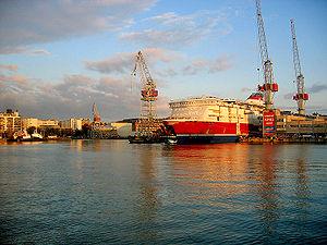 Hietalahti shipyard - Image: XPRS