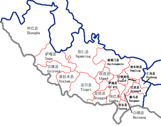 Ngamring County County in Tibet, Peoples Republic of China