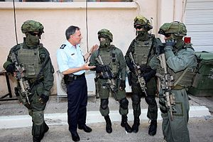 Counter-terrorism - Yamam, one of Israel's counterterrorism units.
