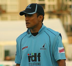 Yasir Arafat (cricketer, born 1982) - Yasir Arafat playing for Sussex in 2009
