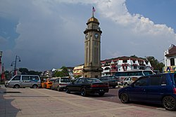 Year 2010 Sungai Petani Clock Tower.jpg