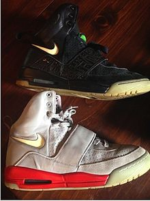 hot sale online bd2d1 204e0 Nike Air Yeezy - Wikipedia