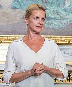 Ylva Ekblad under Det Kgl. Svenske Teaters efterårssamling den 18 august 2015.