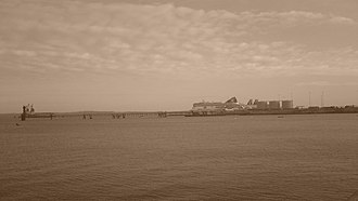 Salt Island, Anglesey - Northern end of Salt Island and Admiralty Pier