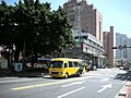 Yongming Police Station, Health and Environmental Inspection Building, Danan Bus 923-AB 20080724.jpg