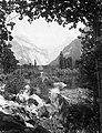 Yosemite Nemzeti Park, Merced folyó. Fortepan 70456.jpg