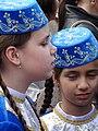 Young Tatar Girls at May 18 Commemoration of Crimean Tatar Deportations-Genocide - Maidan Square - Kiev - Ukraine - 01 (26826393790).jpg