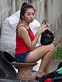Young Woman - Walking Street Market on Th Talad Gao - Lampang - Thailand (34828738530).jpg