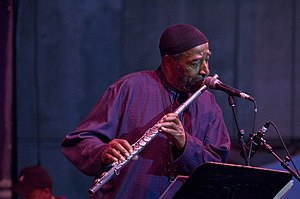 Yusef Lateef at the Detroit Jazz Fest 2007