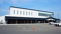 Yuzawa Station east exit 20180721.jpg