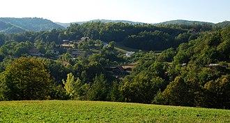 Zabukovje, Šentrupert - Image: Zabukovje jedro vasi