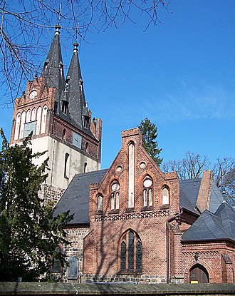 Panketal - Image: Zepernick Church