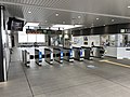 Zeze station ticket gates 20171009.jpg