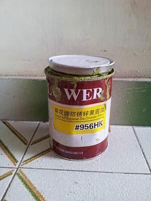Primer (paint) - Zinc chromate primer