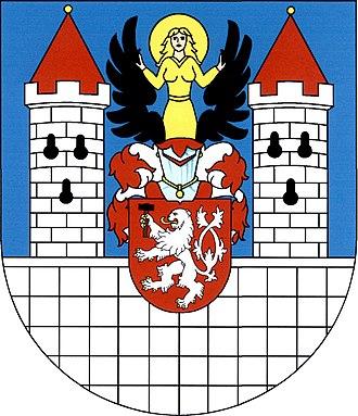 Bečov nad Teplou - Image: Znak města Bečov nad Teplou