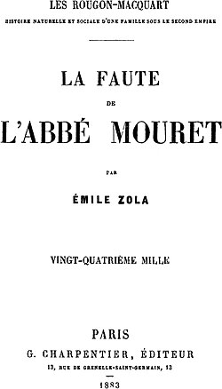 Image illustrative de l'article La Faute de l'abbé Mouret