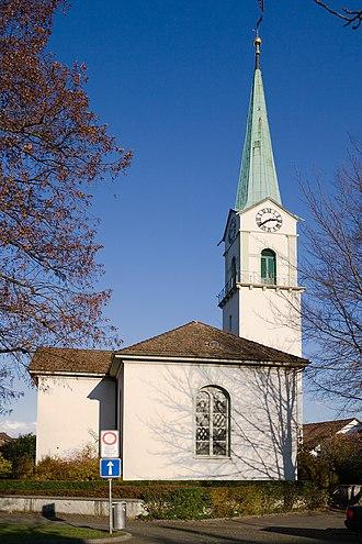 Albisrieden - so called Alte Kirche (old church)