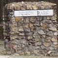 """""""Prison Park"""" detail, Andersonville Prison Park exit (cropped).JPG"""