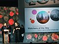 """Watchers in the Sky"" Wins Documentary Editing Award (12186663276).jpg"
