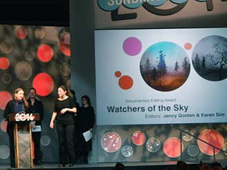 "Watchers of the Sky - Image: ""Watchers in the Sky"" Wins Documentary Editing Award (12186663276)"