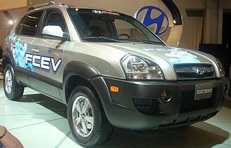 Hyundai ix35 FCEV - Hyundai Tucson FCEV (2005)