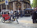 'Cycle-Rickshaw' in Soho locality of London(Friday 28-5-20100.jpg
