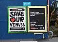 'Save Our Venues' San Fran bar posters.jpg