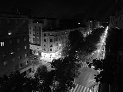 (Madrid) Photography by David Adam Kess Madrid, Spain, Europe, Spain, España Night Photography in Black and White.jpg