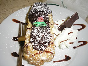 Image illustrative de l'article Éclair (pâtisserie)