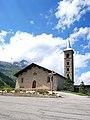 Église Saint-Jacques de Tarentaise de Tignes (Les Boisses). Vue sud-est.jpg