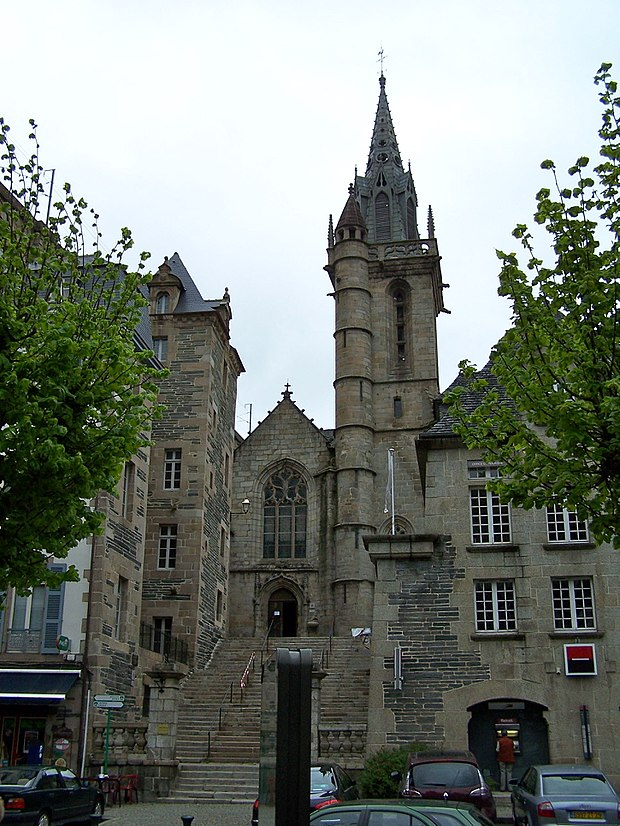 Monument historique à Morlaix