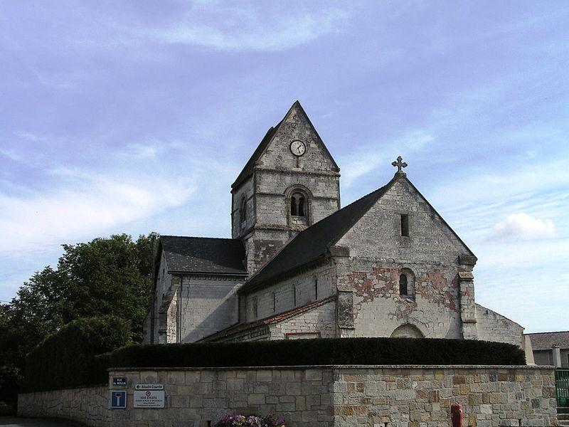 Église Saint-Nicolas-et-Saint-Gérald de Francheville (Inscrit)