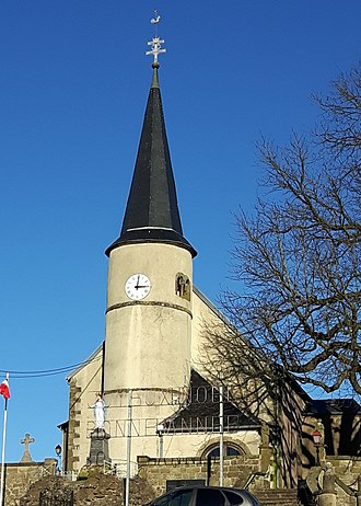 Altrippe - The church in Altrippe