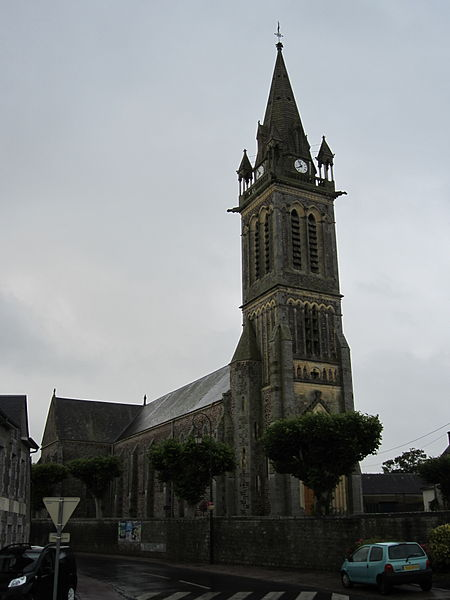 église Saint-Vigor de fr:Bricqueville-sur-Mer