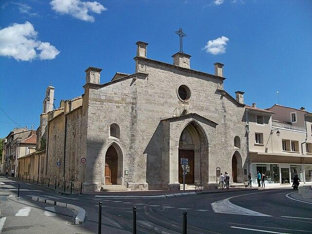 Церковь Сен-Флорен - Église Saint-Florent d'Orange, Достопримечательности Оранжа (Orange), Прованс, Франция - путеводитель по городу Оранж, что посмотреть в Оранже