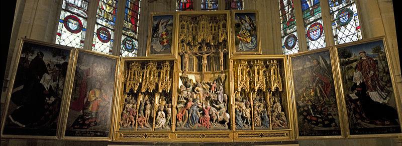 Église Saint Martin (Prieuré d'Ambierle)-Retable de la Passion.jpg