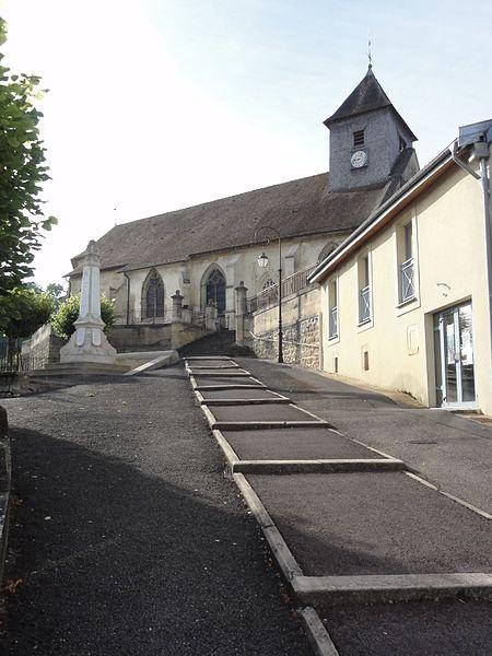 Église Sainte-Catherine de Fains-les-Sources