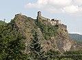 Ústí nad Labem - hrad Střekov, pohled od Z obr01.jpg
