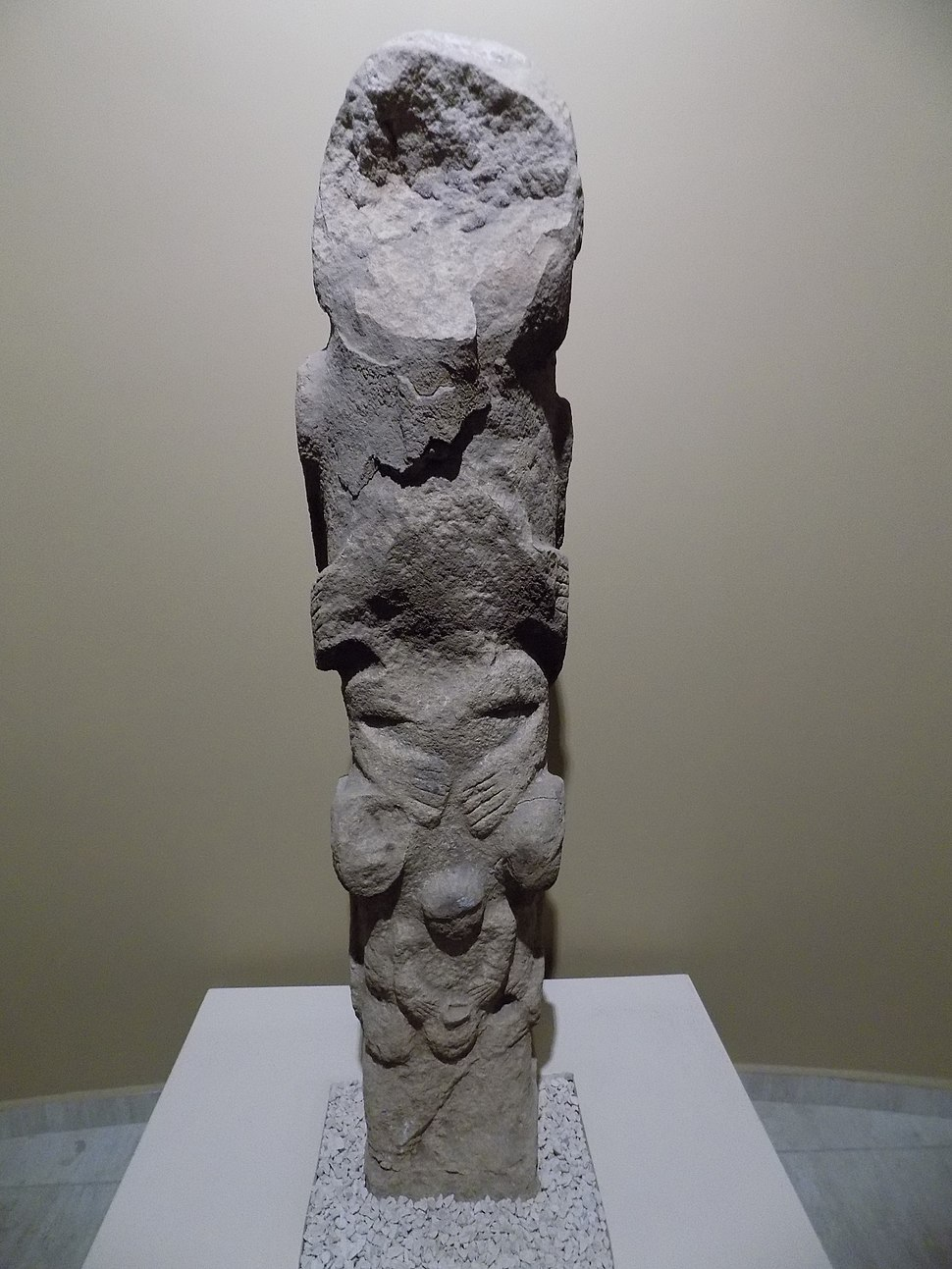 Şanlıurfa Müzesi Neotilik Çağ totem