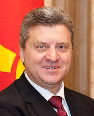 Macedonian presidential election, 2009 - Image: Ǵorge Ivanov 2012 04 27
