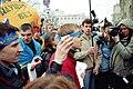 Ігор Гузь разом із побратимами під час протестів у Білорусі.jpg
