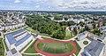 Даугавпилс-панорамный вид с птичего полета- школа и стадион - panoramio.jpg