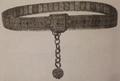 Женский пояс с подвеской, позолоченное серебро. Ахалцих-Ахалкалак. 1920-е годы..png