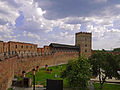Луцький замок - Замкові мури P1070997.JPG