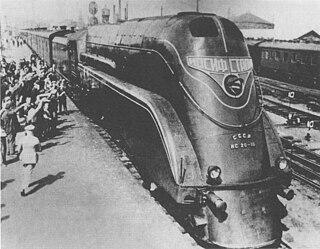 Russian locomotive class IS class of Soviet 2-8-4 locomotives